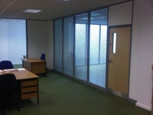 Glass Wall Panels - Fire Rated Glass Partition