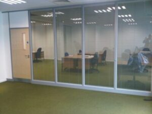 Fire Rated Glass Partition Installation London   Office Design Company