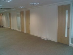 Partitioned Offices