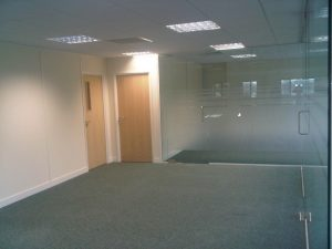 Office Space Design for addition of Partitioned Offices