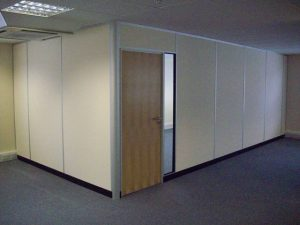 demountable partition wall